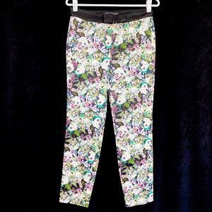 Zara Woman Floral Pants